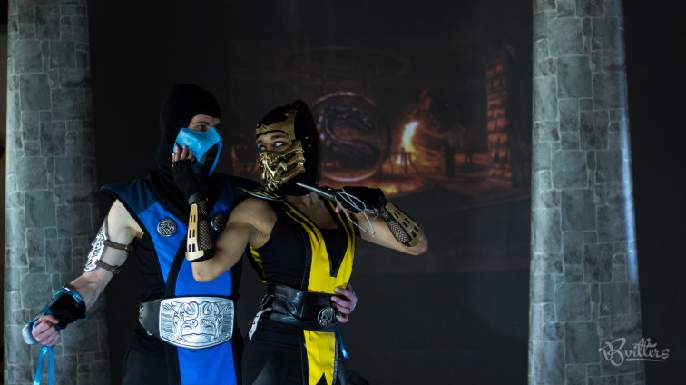Sub-Zero & Lady Scorpion | Photo taken at Schets Sessie 2.0 by Benjamin Vitters