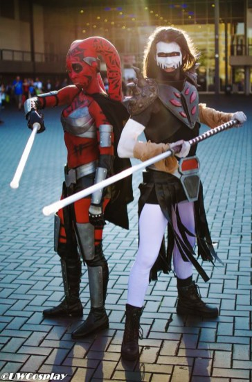 Darth Talon and Darth Nihl at Amsterdam Comic Con 2016 | Photographer: UWCosplay