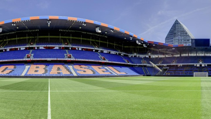 Stadion-St.Jakob-Park Basel, the home stadium of FC Basel the leading football club in Switzerland. made by avocado360