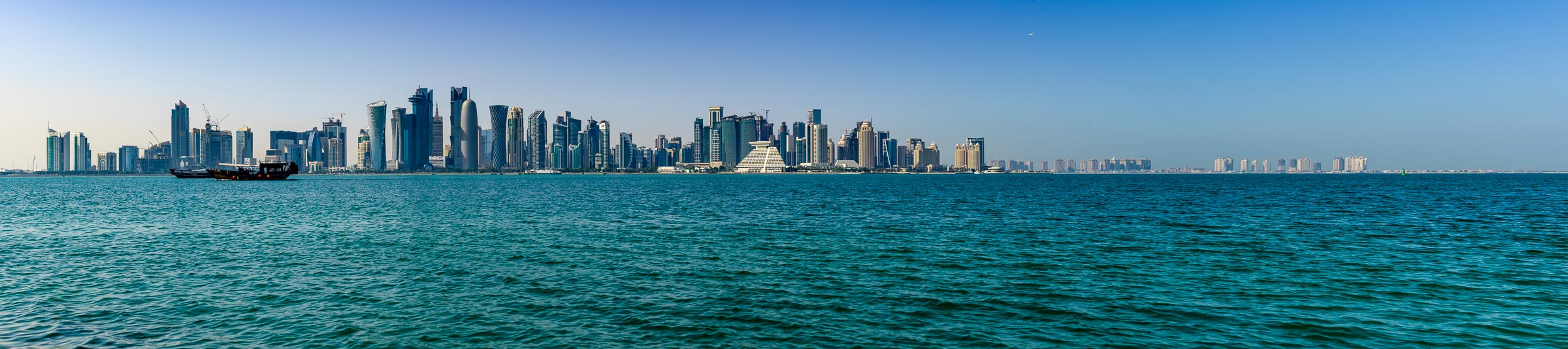 Doha The Capitol Of Qatar
