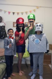 Dr. Who and the Marios