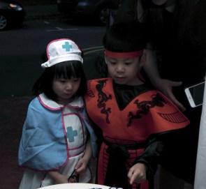 a nurse and a samurai