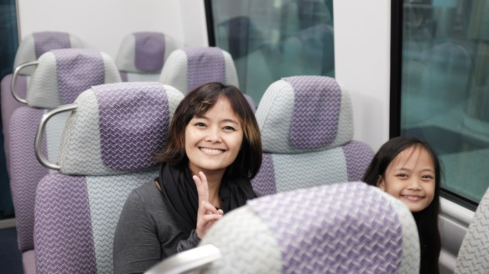 in the Airport Express