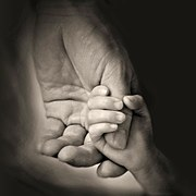 father's hand