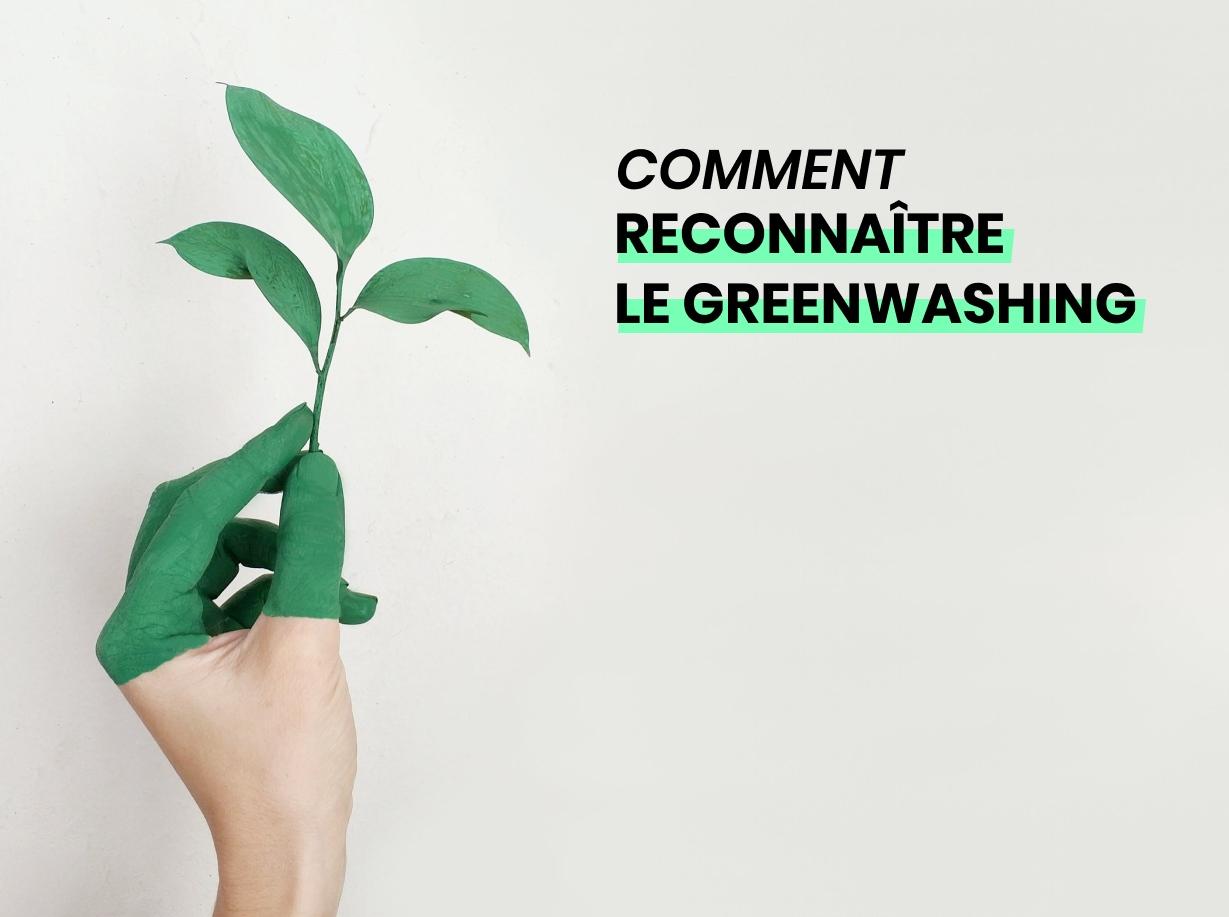 Illustration du greenwashing et comment le reconnaitre
