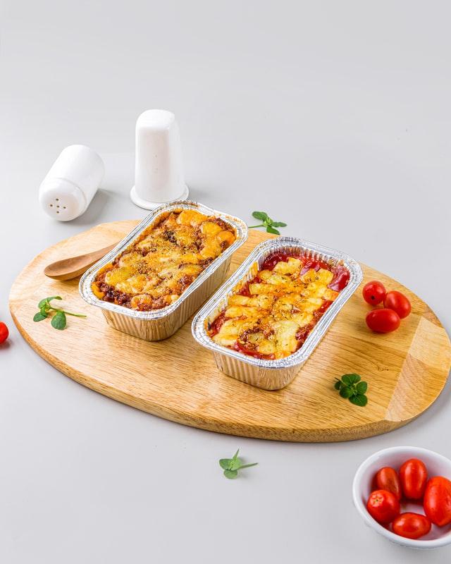 Plat de lasagnes, recette pour batch cooking