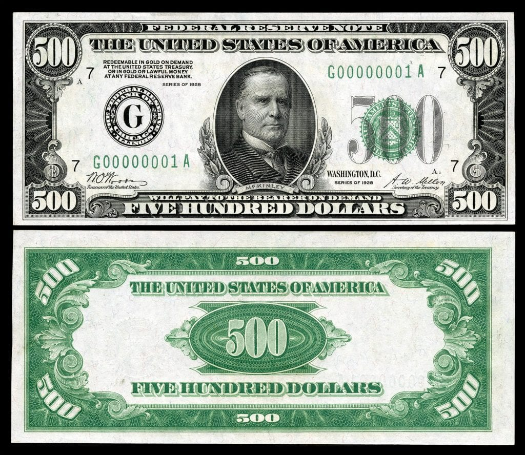 The All The Info On The 500 Bill Yes It S Real With