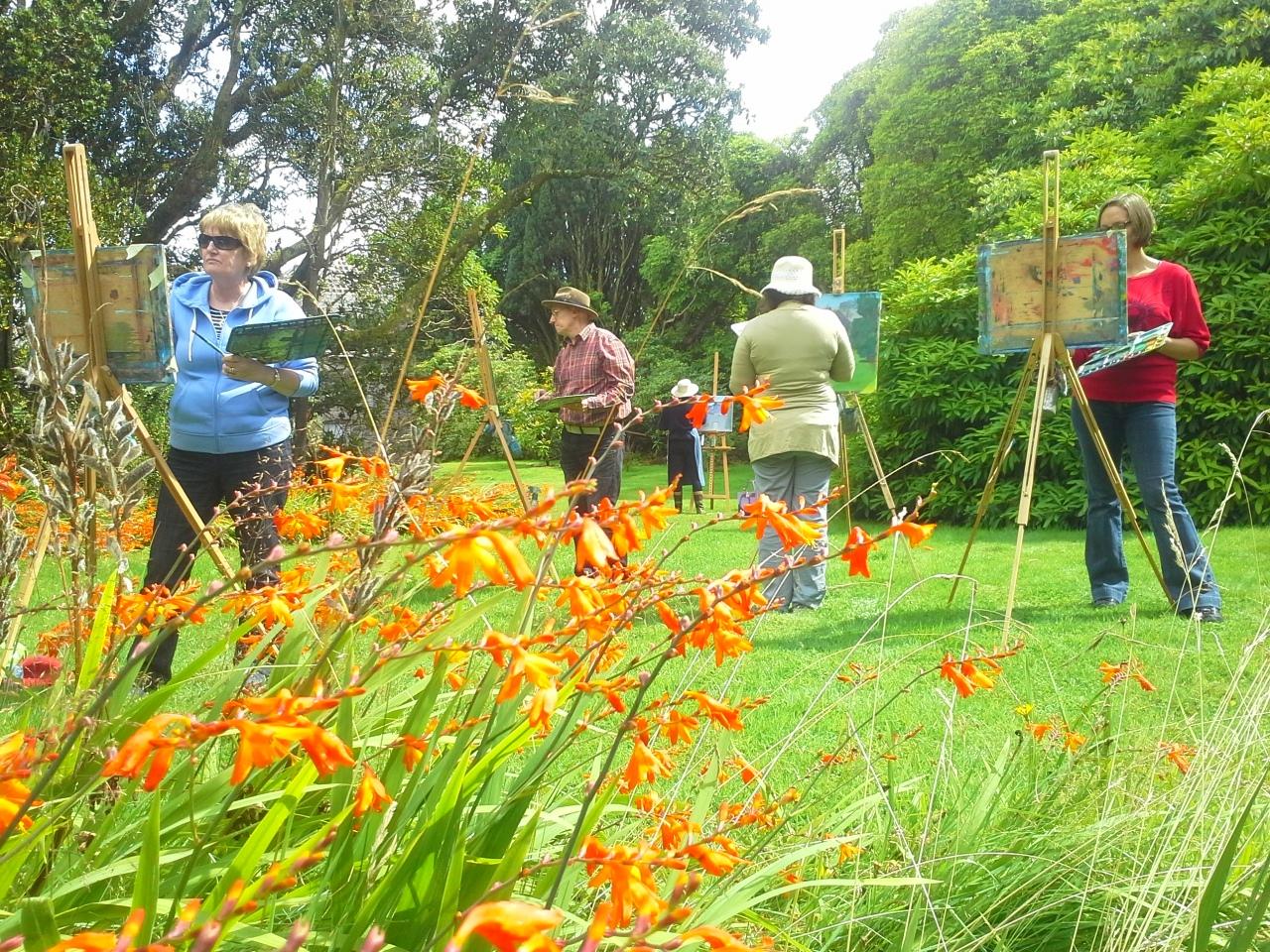 Outdoor Painting Workshop #4 - Kilmacurragh Gardens