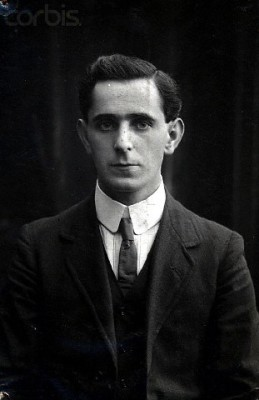 Seán Mac Diarmada photographic portrait