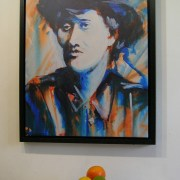 1916 Markievicz canvas print with still life.