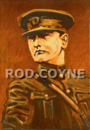 General Michael Collins canvas print