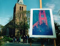 Mondrian's church, Domburg.