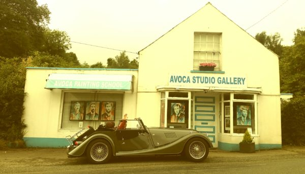 Classey visitors at Avoca Gallery.