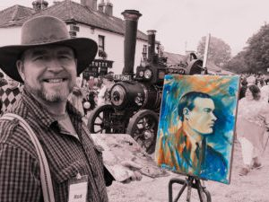 1916 Portrait Collection at the 2016 Hollywood Fair.
