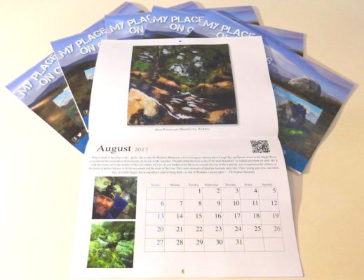 Five calendars, one open at August.