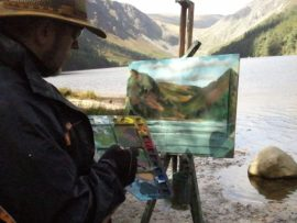 What is Plein Air Painting like in Ireland?