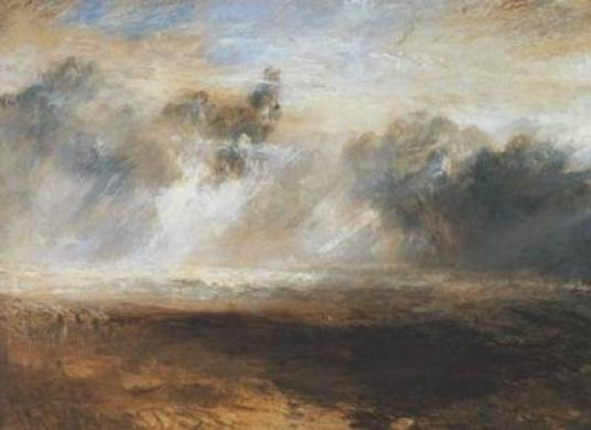 Seascape by the grandfather of plein air painting, W.J.Turner.