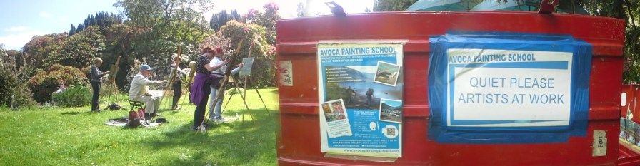 Outdoor Painting Workshop Box