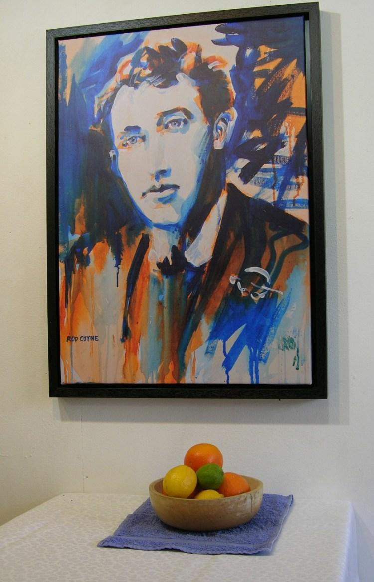 Thomas MacDonagh with still life