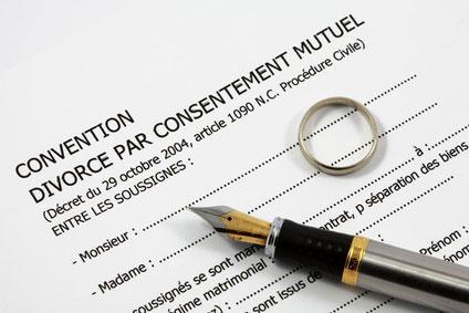 Divorce par consentement mutuel sans juge et judiciaire - convention