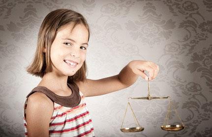 enfant défendu par un avocat dans le divorce