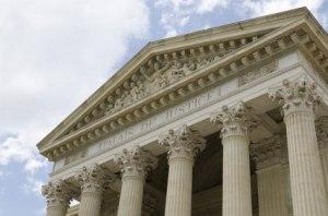 Tribunal où se déroule l'audience de divorce pour faute