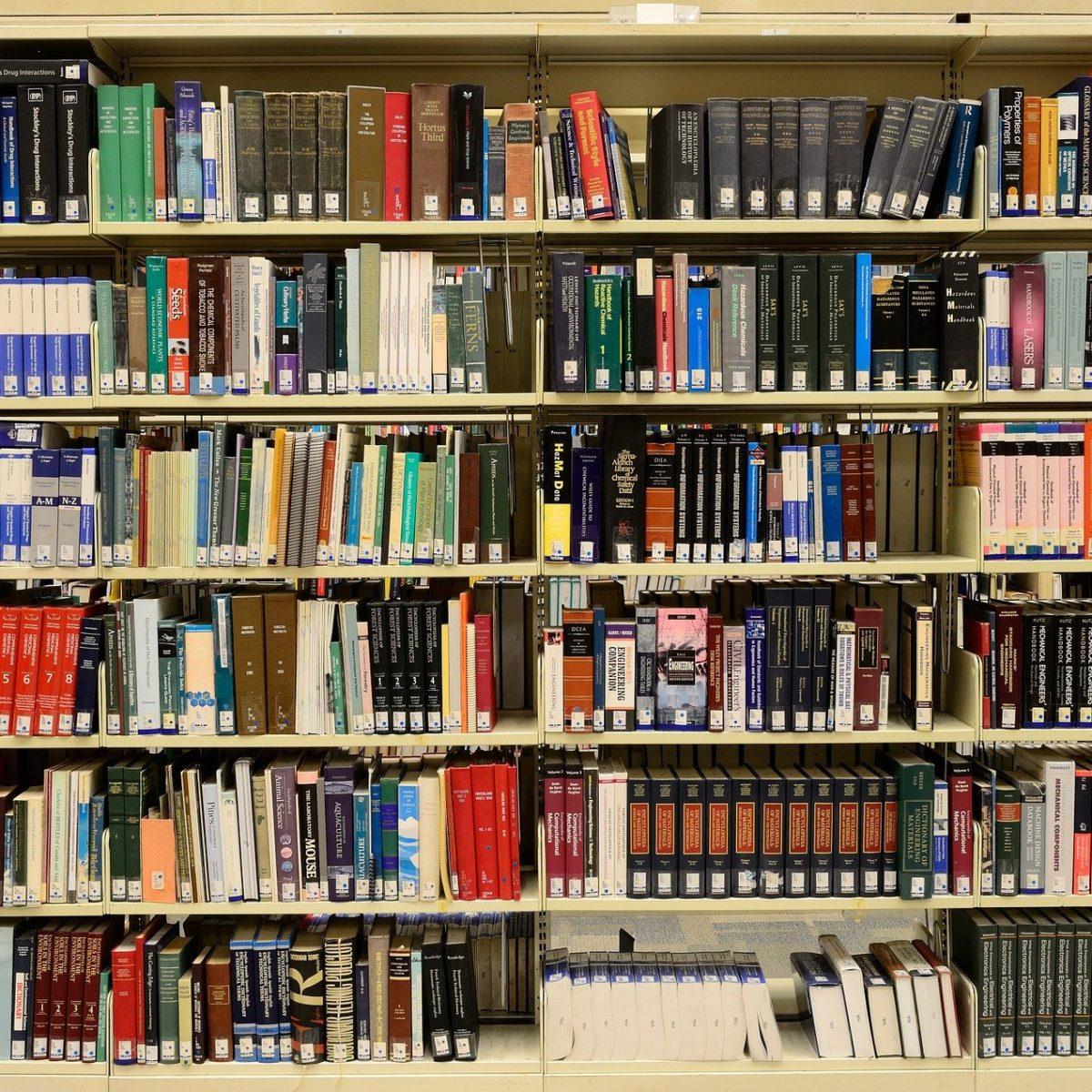 bibliothèque d'un éditeur