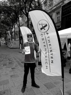 Christian - Infostand Mariahilferstraße