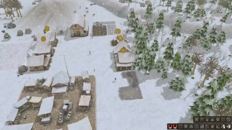 Winter in Banished