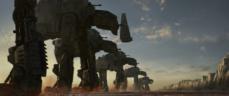 Star Wars: The Last Jedi — AT-AT Walkers