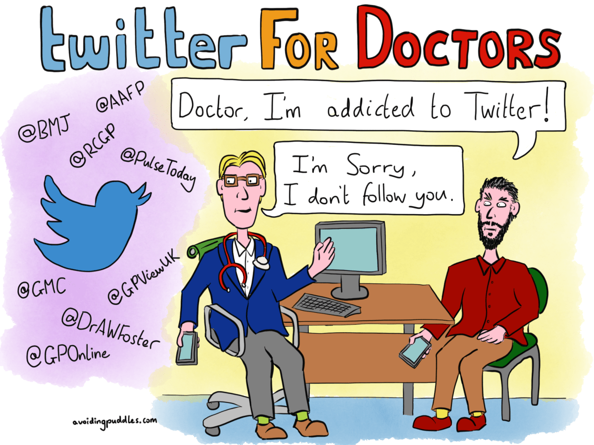 Twitter for doctors, physicians and other clinicians?