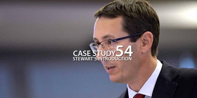 Case Study 54 : Stewart's Introduction