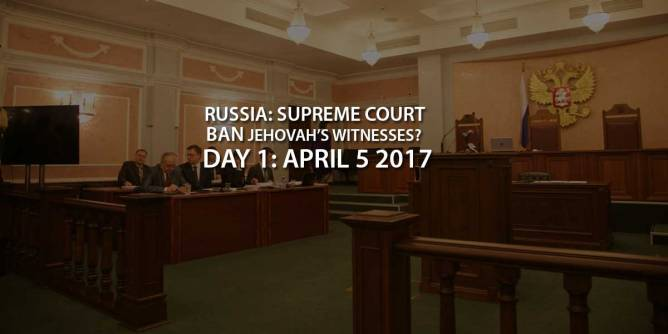 Ban Jehovah's Witnesses? Russian Supreme Court
