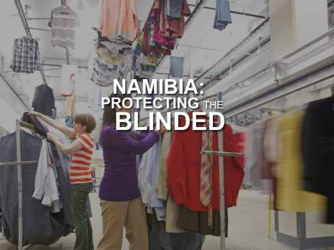 Namibia: Protecting the Blinded