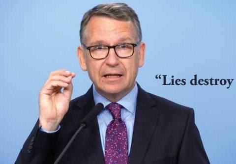 Gajus Glockentin - Lies Destroy Trust.