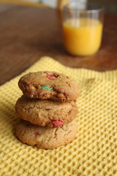 Cookies croquant aux Smarties
