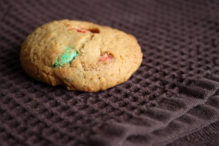 Cookies croquants aux Smarties