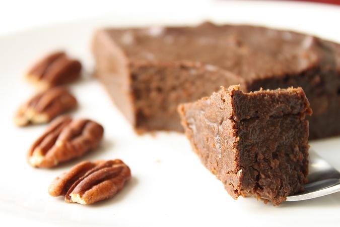 Fondant chocolat noix de pecan sans beurre