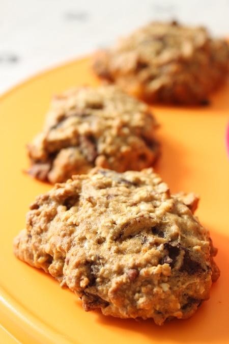 Cookies moelleux sans beurre chocolat orange sans beurre