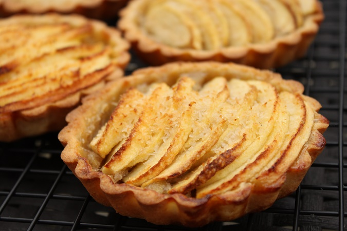 Tartelettes aux pomme banane noix de coco