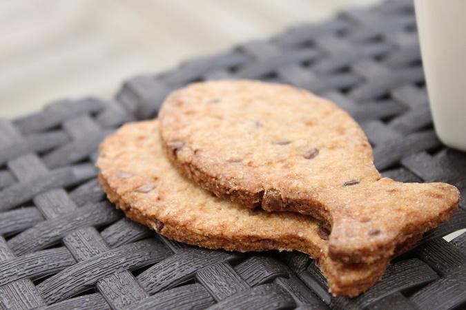 Biscuit vanille sucre de coco graines de lin