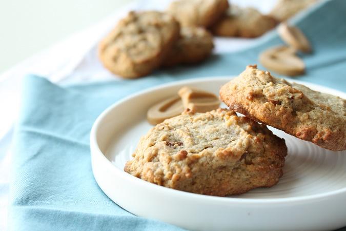 Cookies pain d'épices chocolat