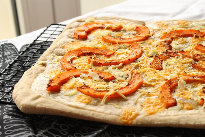 Pizza courge butternut