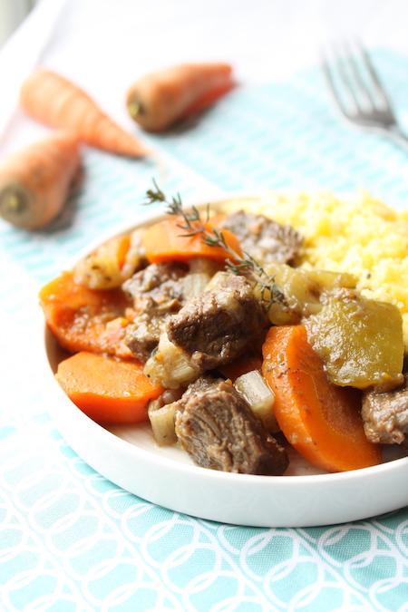 Boeuf carotte blette courgette