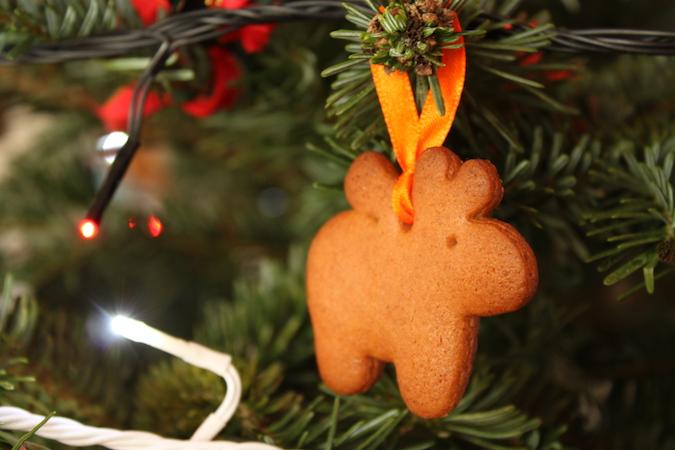 Biscuits pain d'épices Noël