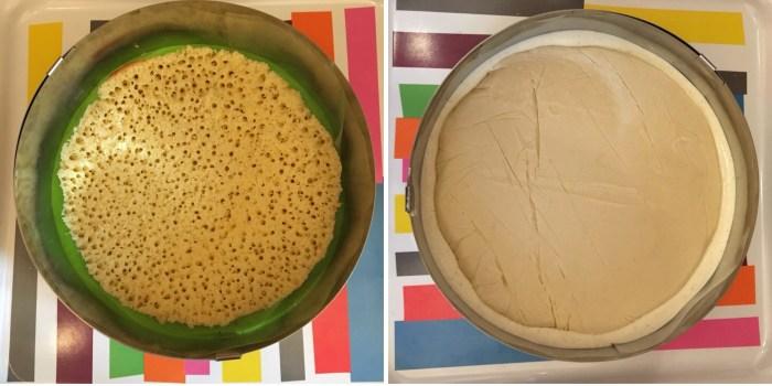 Montage bavarois vanille poire