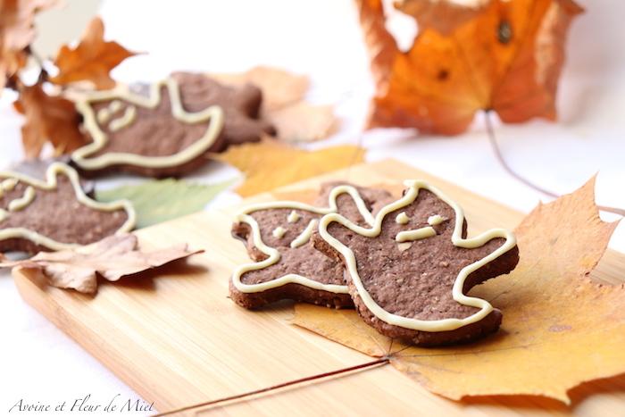 Granolas au cacao pour Halloween (sans oeuf)