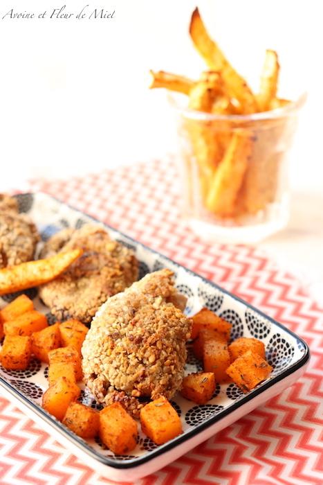 Nuggets de poulet aux épices tandoori