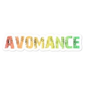 Avomance Sticker – Different sizes