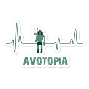 Avotopia Sticker